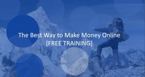 best way to make money online